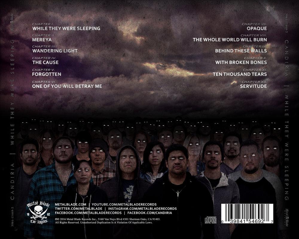 Tray Card - Back [CD]