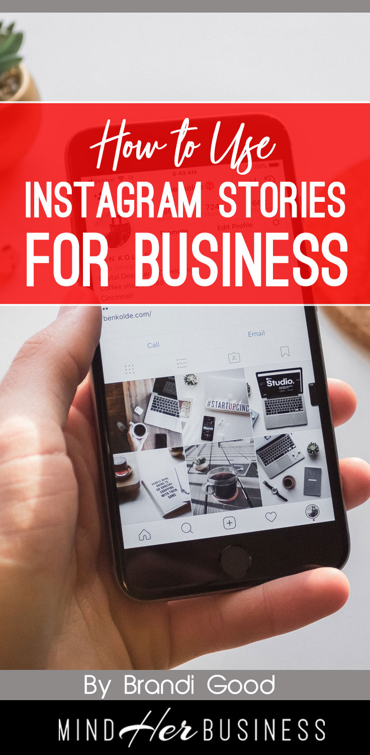 You know that you should be using Instagram for your business, and Instagram stories are the latest rage- but how do you use them for your business?