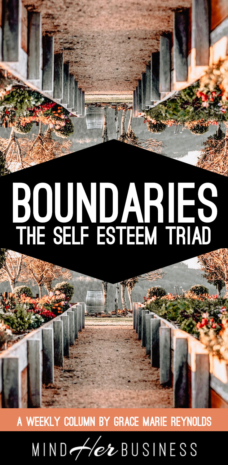 What is the difference between boundaries and rules, and how do you set healthy boundaries for yourself and your business?