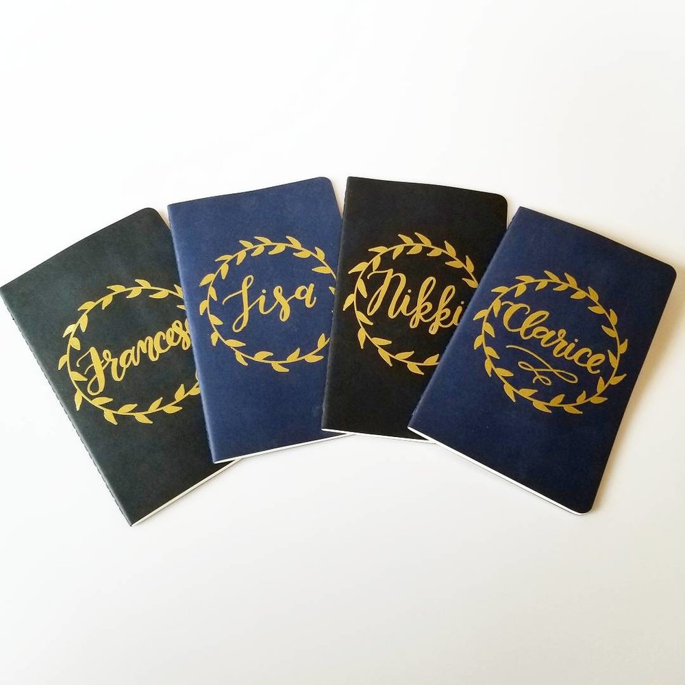 Personalized Embossed Journal