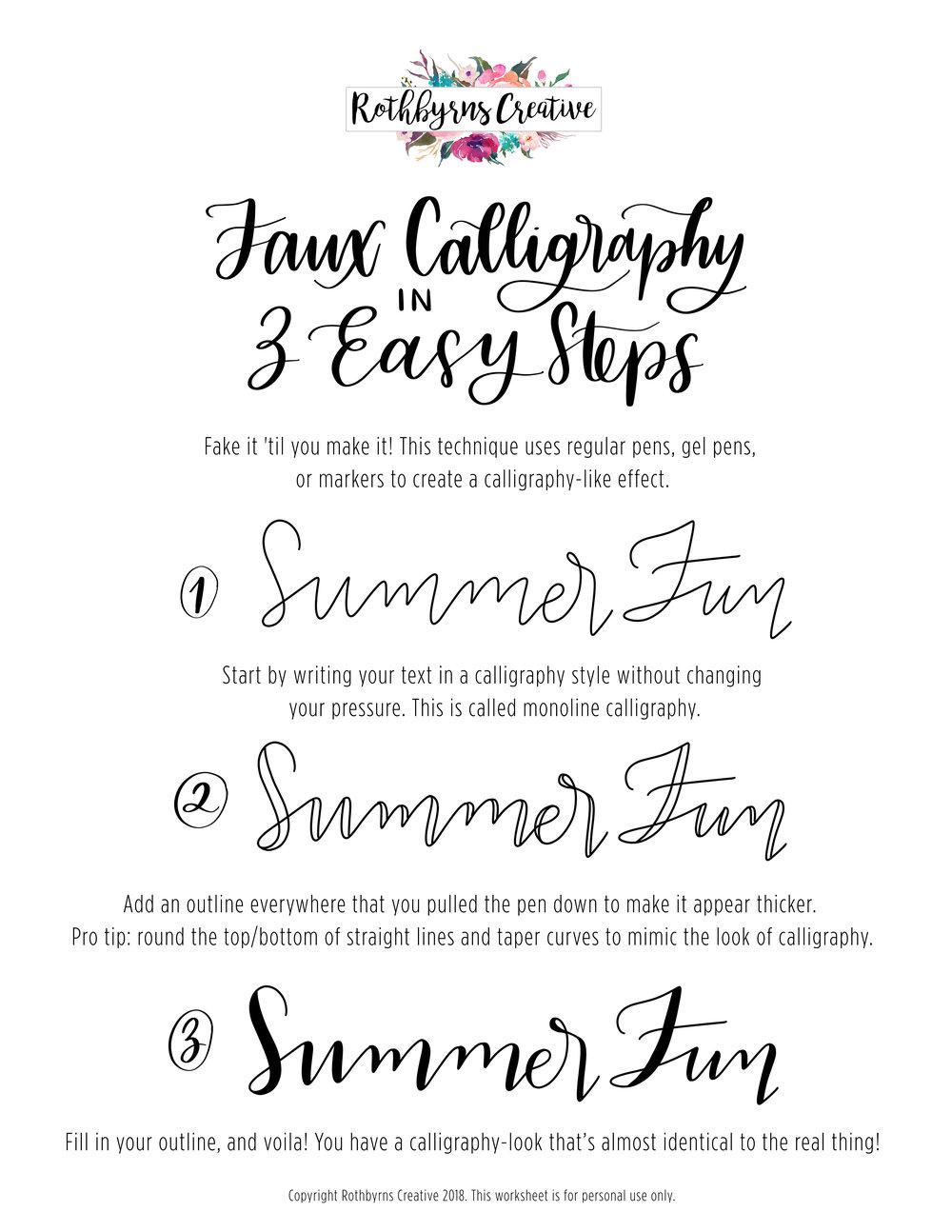 Summer Fun Faux Calligraphy.jpg