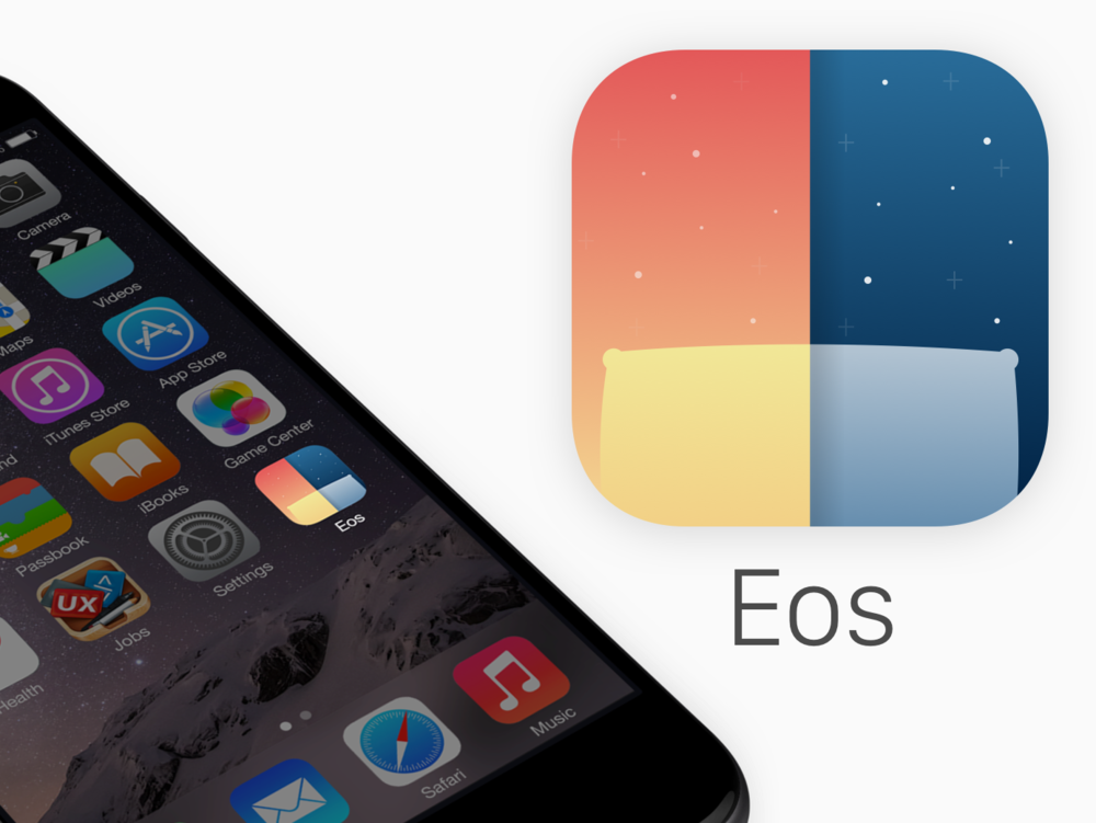 Eos app icon created as a part of my 100 days of UI challenge. Check out the rest here!