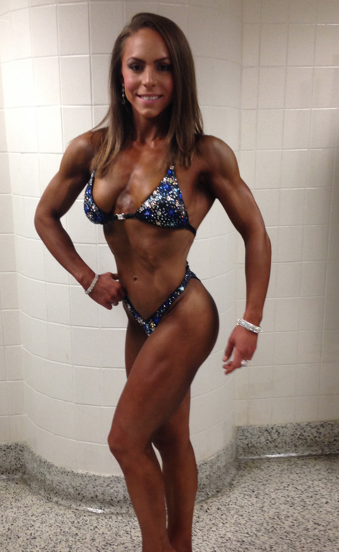 My First Show: NPC Kentucky Muscle in November 2014 where I won class F. 142lbs.