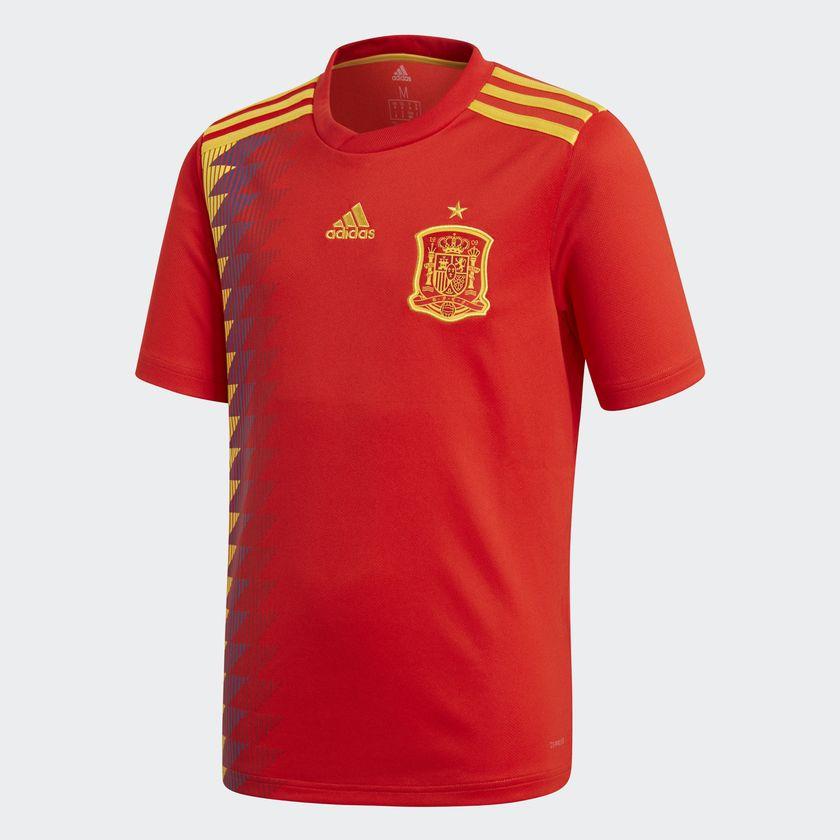 camiseta futbol selección española mundial 2018