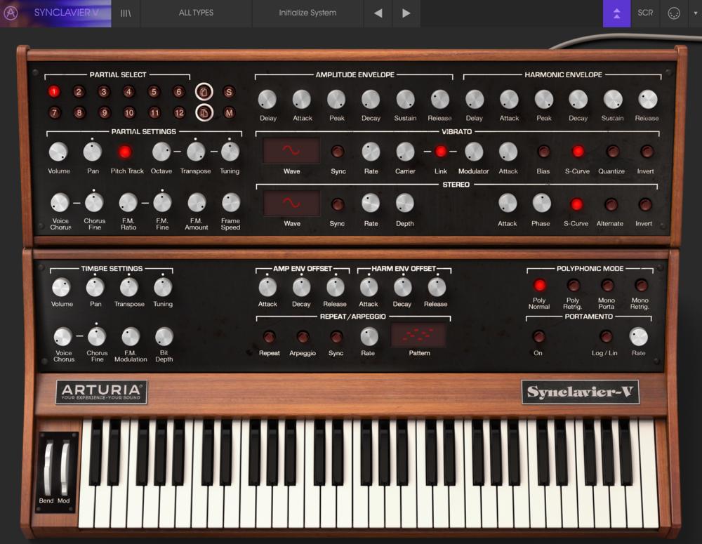 Synclavier V, skäl nog att uppgradera från V-Collection 4.