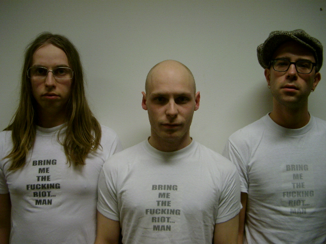 Rocco Gustafsson, Micke Lönngren & Martin Roos.