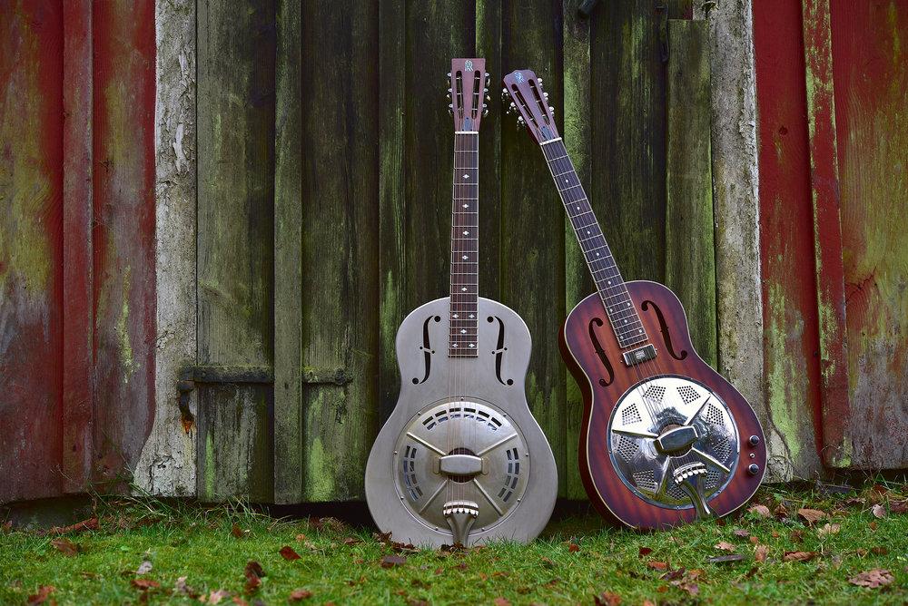 Det är lika bra att erkänna det, innan någon annan sticker in repliken, jag kommer aldrig bli en ny Ry Cooder eller Jerry Douglas – jag skulle ha varit mer fokuserad i min ungdom– men det var oerhört intressant att få tillfälle att bekanta sig med två representanter från Reso Guitars.
