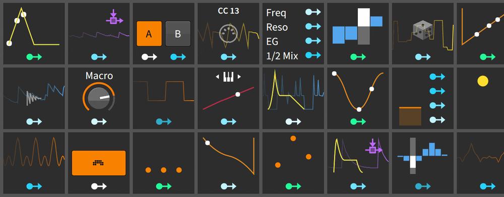 I Bitwig Studio 2.0 får vi stifta närmare bekantskap med ett stort gäng Modulators.
