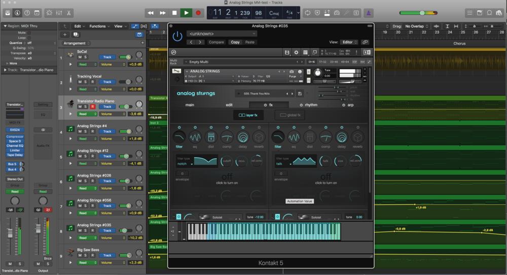 Output Analog Strings fungerar både fristående och i din favorit-DAW.