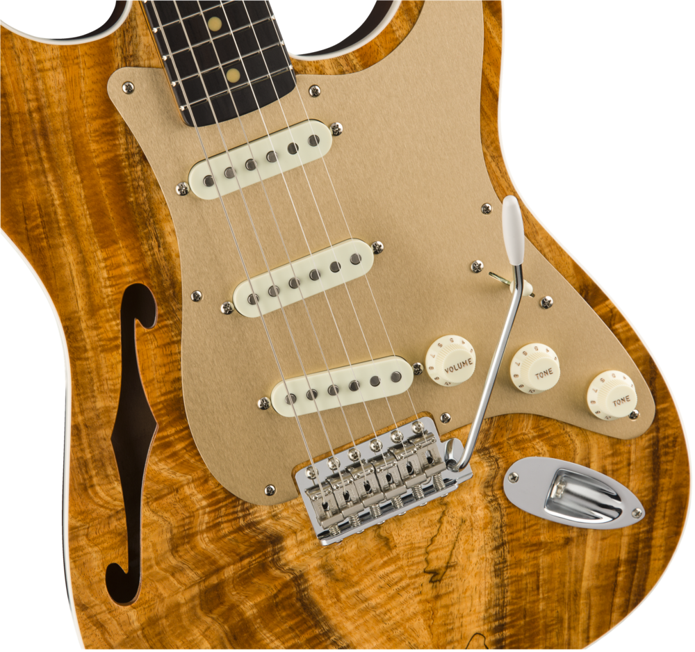 Fender Custom Shop 2017 Artisan Thinline Koa Strat – NOS