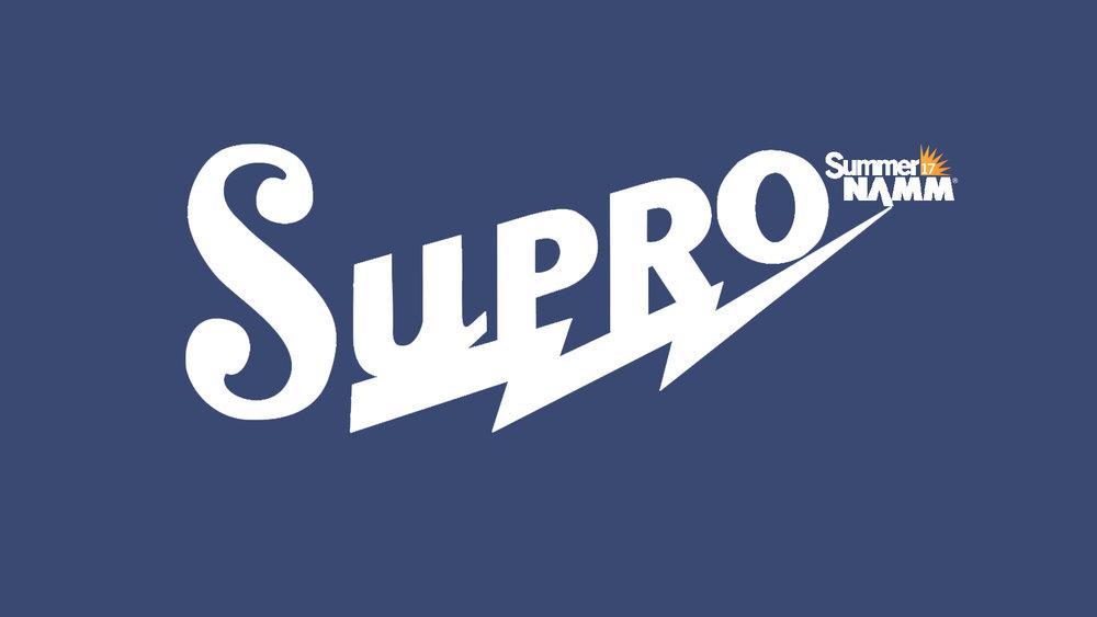 SUMMER NAMM 2017: Supro