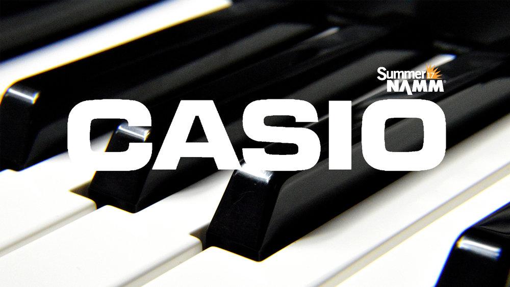 SUMMER NAMM 2017: Casio