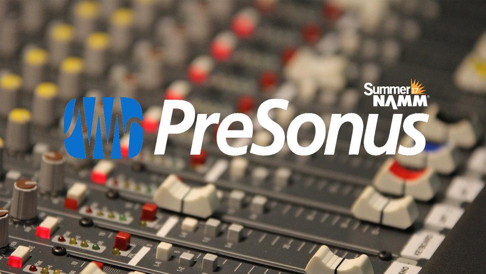 SUMMER NAMM 2017: Presonus 16.0.2 USB