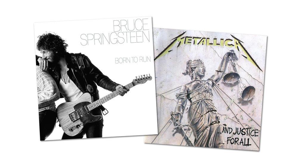 DAGENS KLASSIKER: Bruce Springsteen & Metallica
