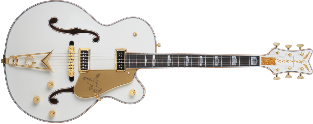 Gretsch G6136CST White Falcon.