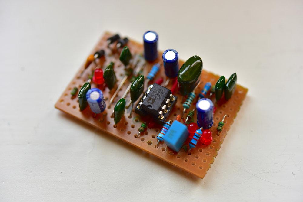 Även Sweet Honey Overdrive-kortet har fått sina komponenter.