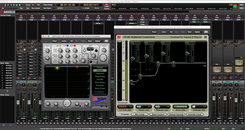 Mixbus, ett ytterst kompetent DAW-program med riktigt analog känsla.