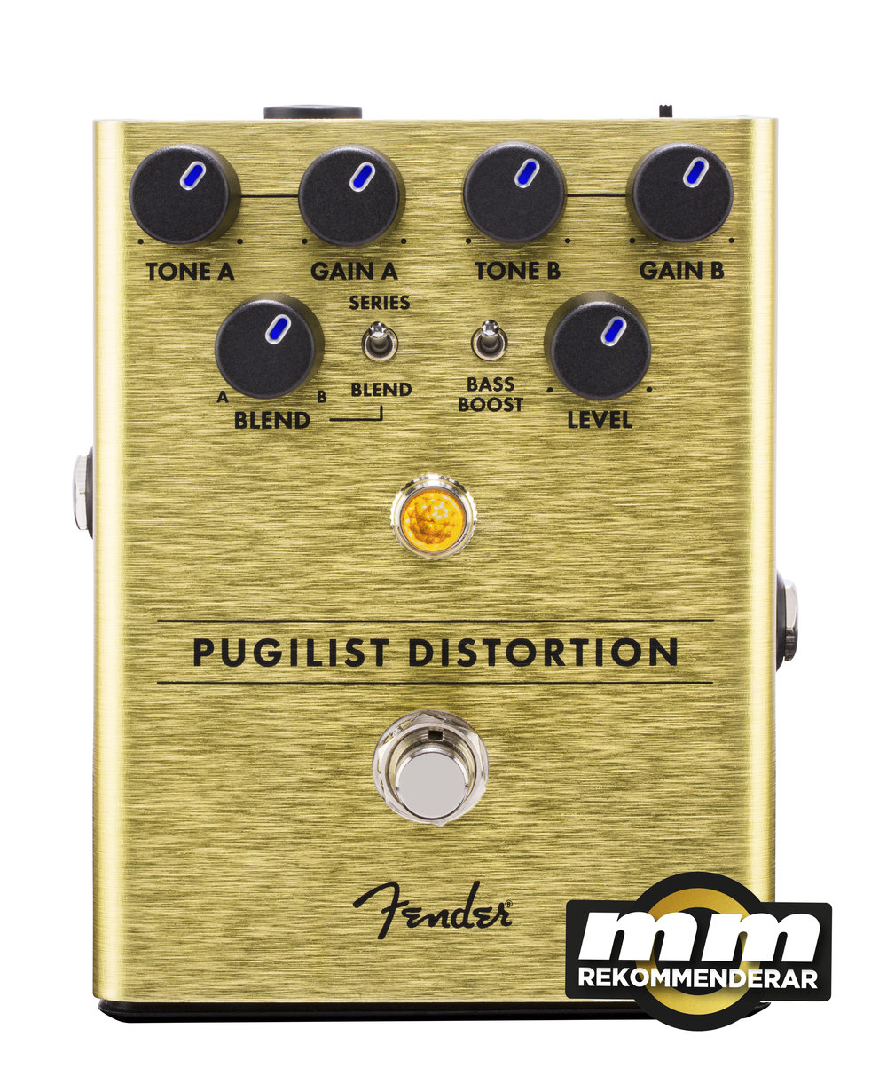 pugilist distortion fender guitar pedal