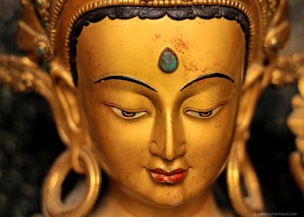 Golden Boddhisattva