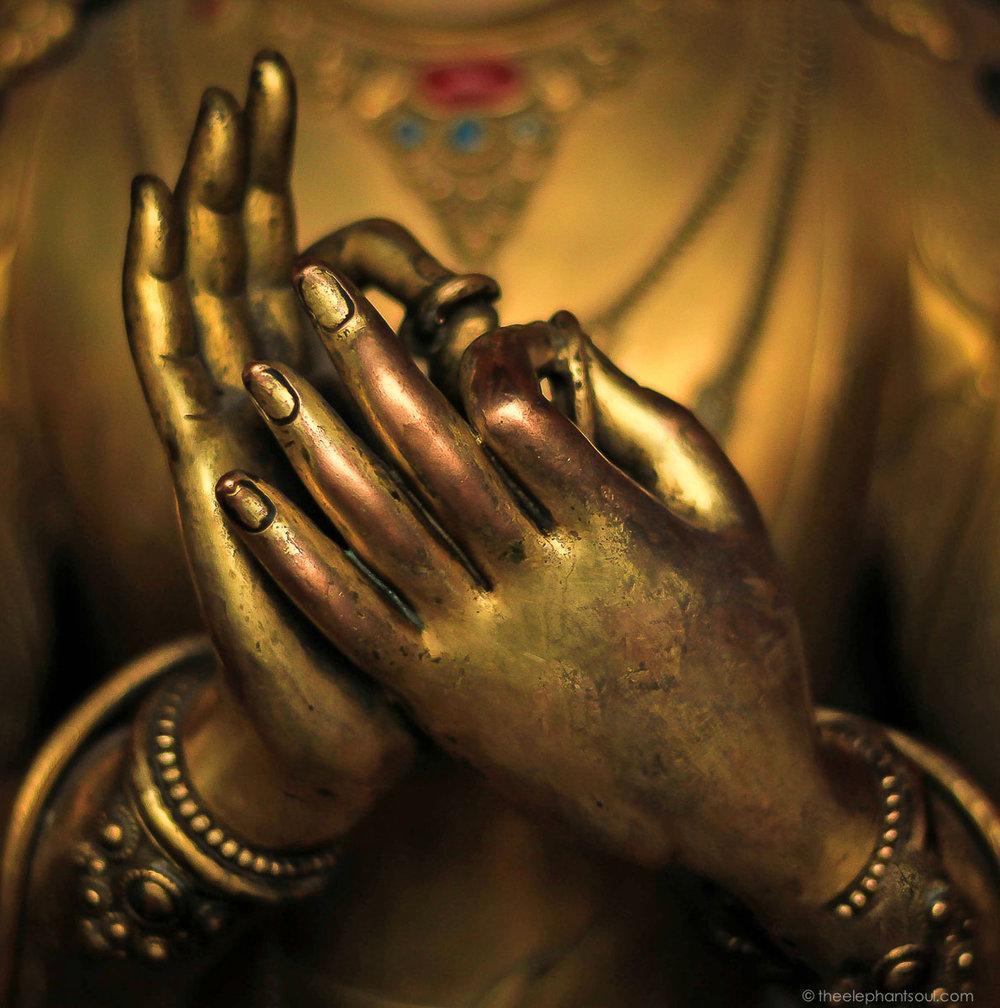 Dharmachakra Meditation Mudra
