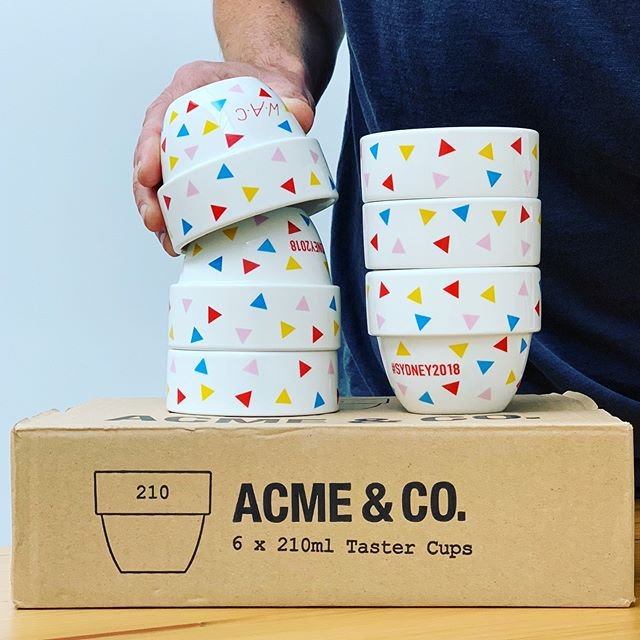 There are cupping bowls, and then there are these stone cold stunners. Crafted by @acmeandco, adorned by @fullcircle.studio, and the perfect gift for any AeroPress lover. Shipping now! Link in profile...