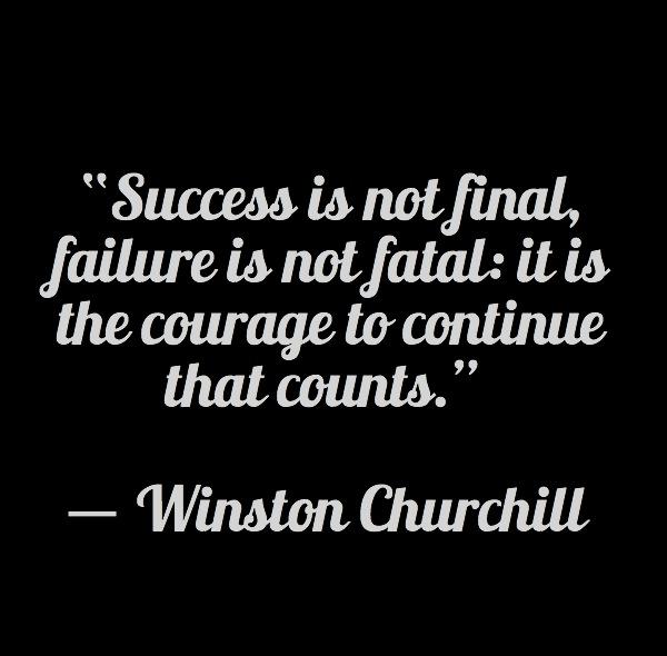 Success Winston Churchill