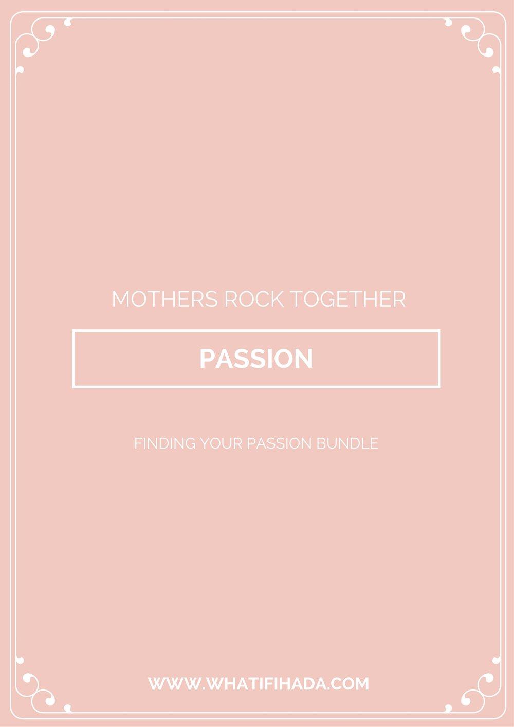 Passion Printable