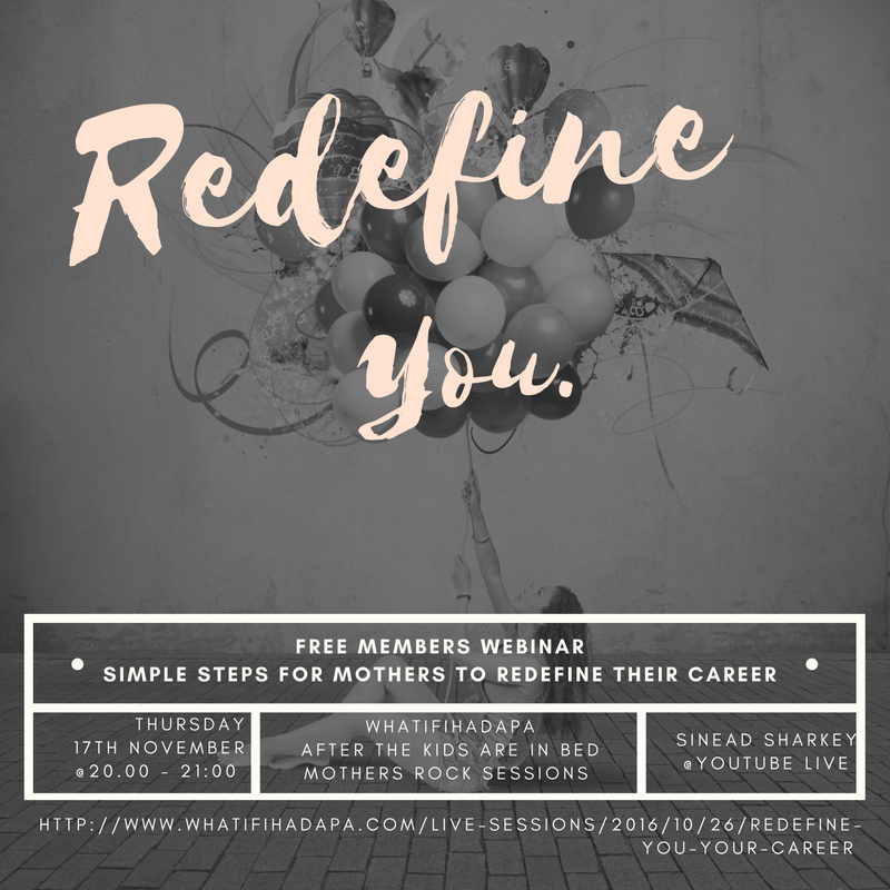 Redefine You and Your Career Coming Soon