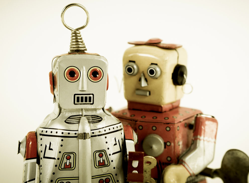 Two types of robots #structured and #unstructured - I would marry neither ;)