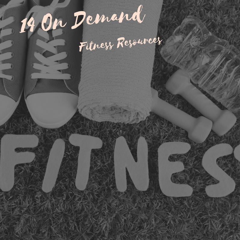 14 On Demand Fitness Resources for Mums that give the time flexibility for fitness