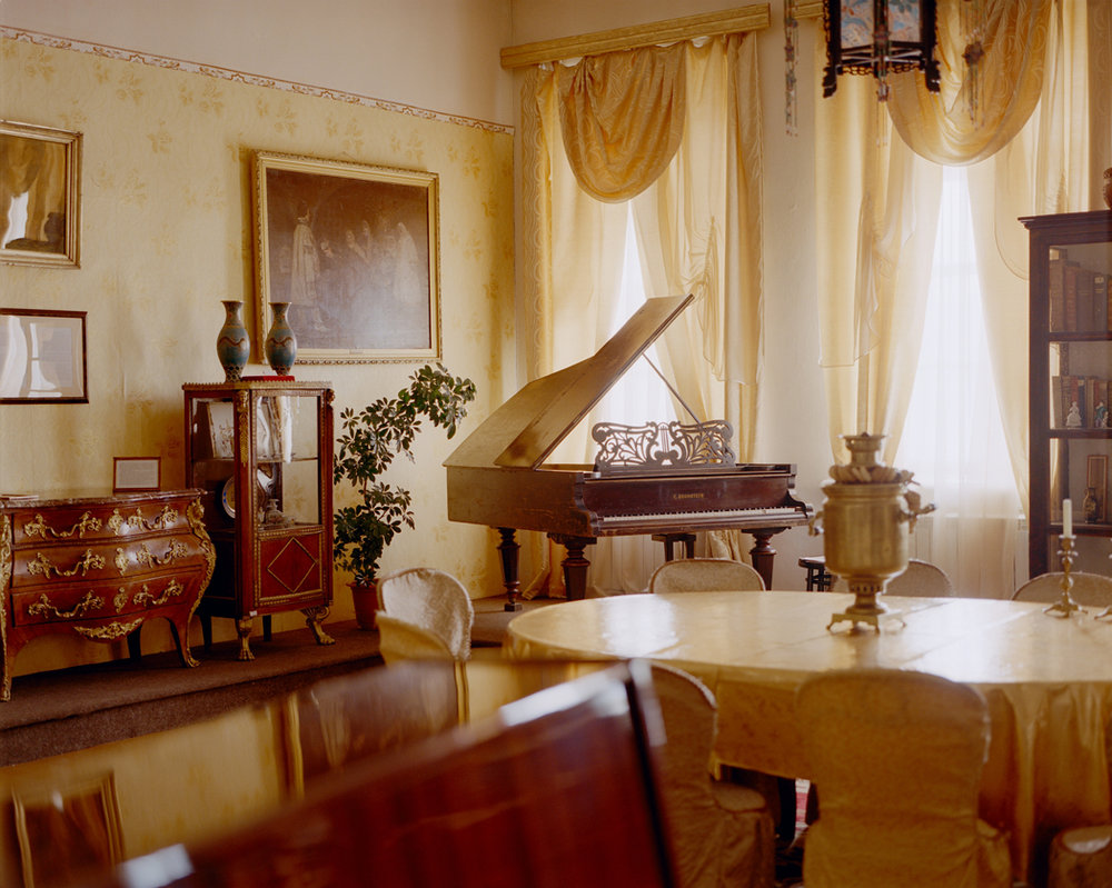 1874 Carl Bechstein concert grand formerly owned by Kyakhta merchant, Alexey Mikhailovich Lushnikov