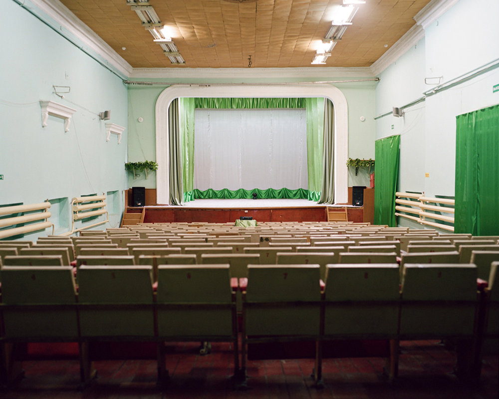 Concert hall in Artyk, population 350, close to the Kolyma Gulag goldmines