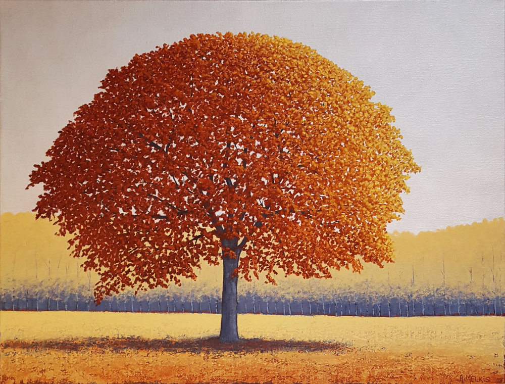 - Autumn Rust : Acrylic on Linen