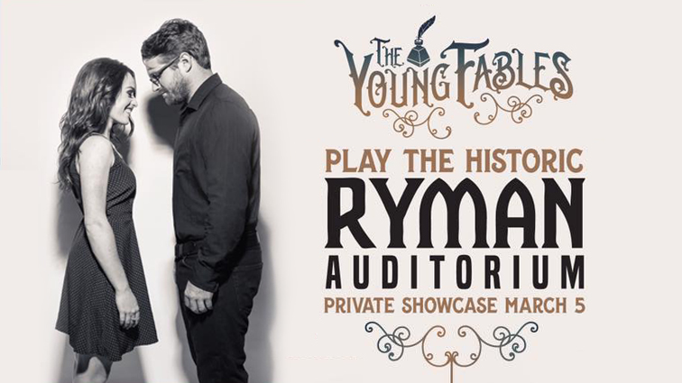 The Ryman Auditorium The Young Fables .jpg