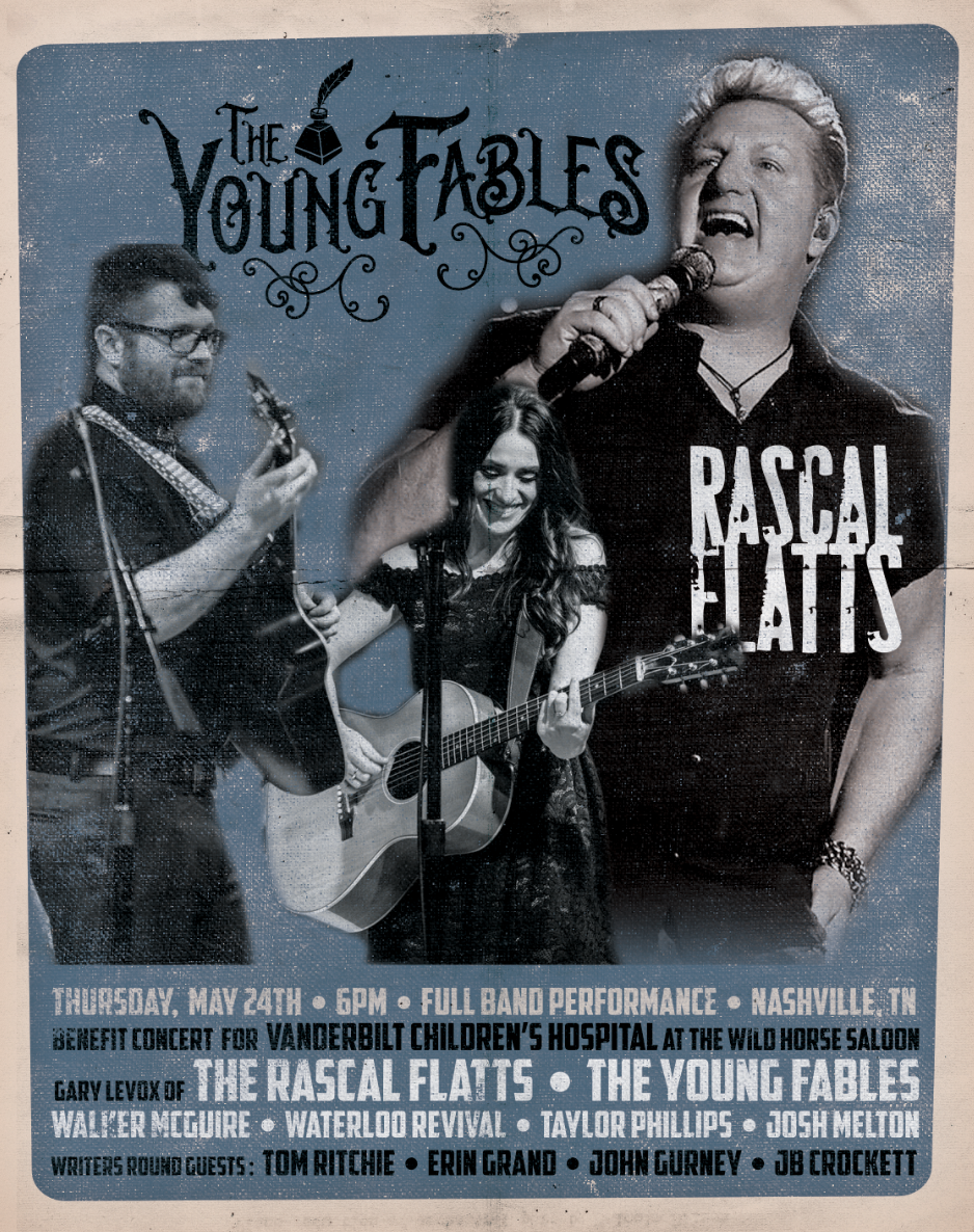 The Young Fables appear at The Wildhorse in Nashville TN with Gary Levox.