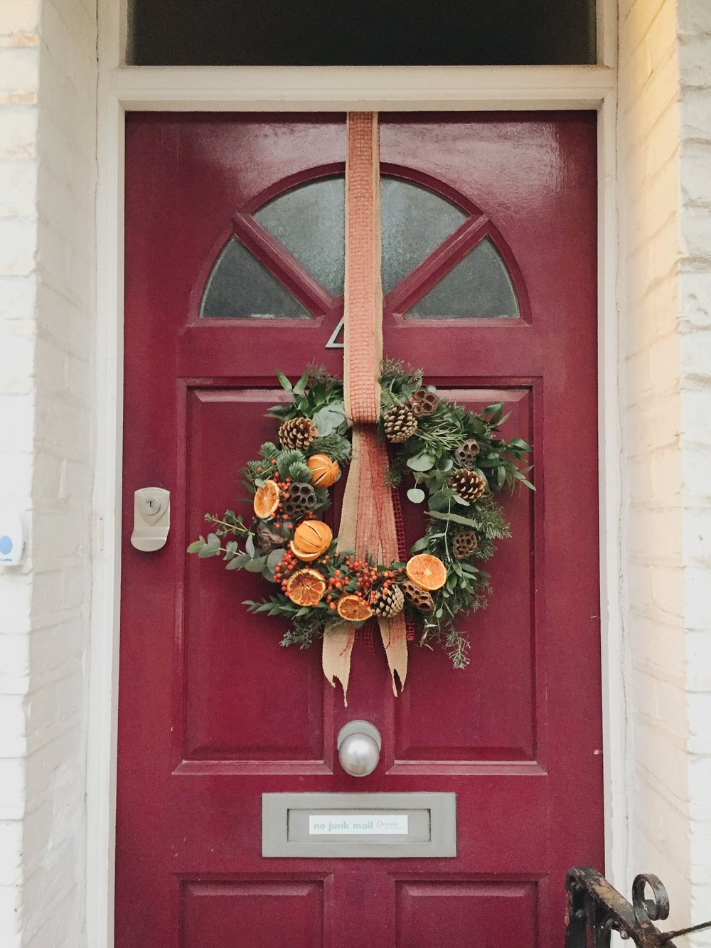Tutorial diy christmas dcor for your front door martina natali tutorial diy christmas dcor for your front door solutioingenieria Choice Image