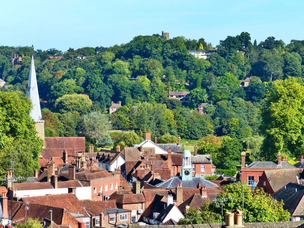 Godalming Pepperpot and Town