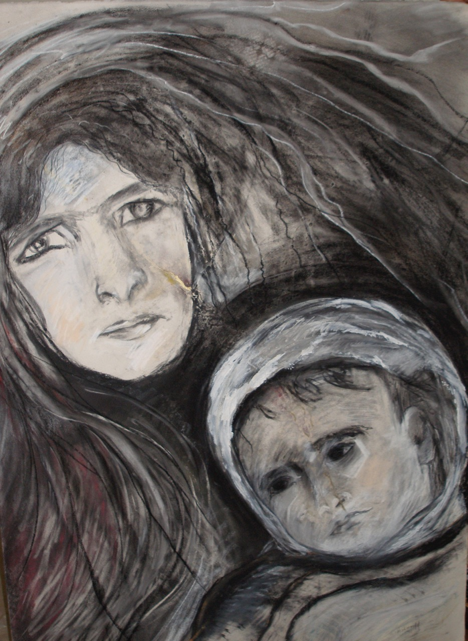 Arab Mother & Child