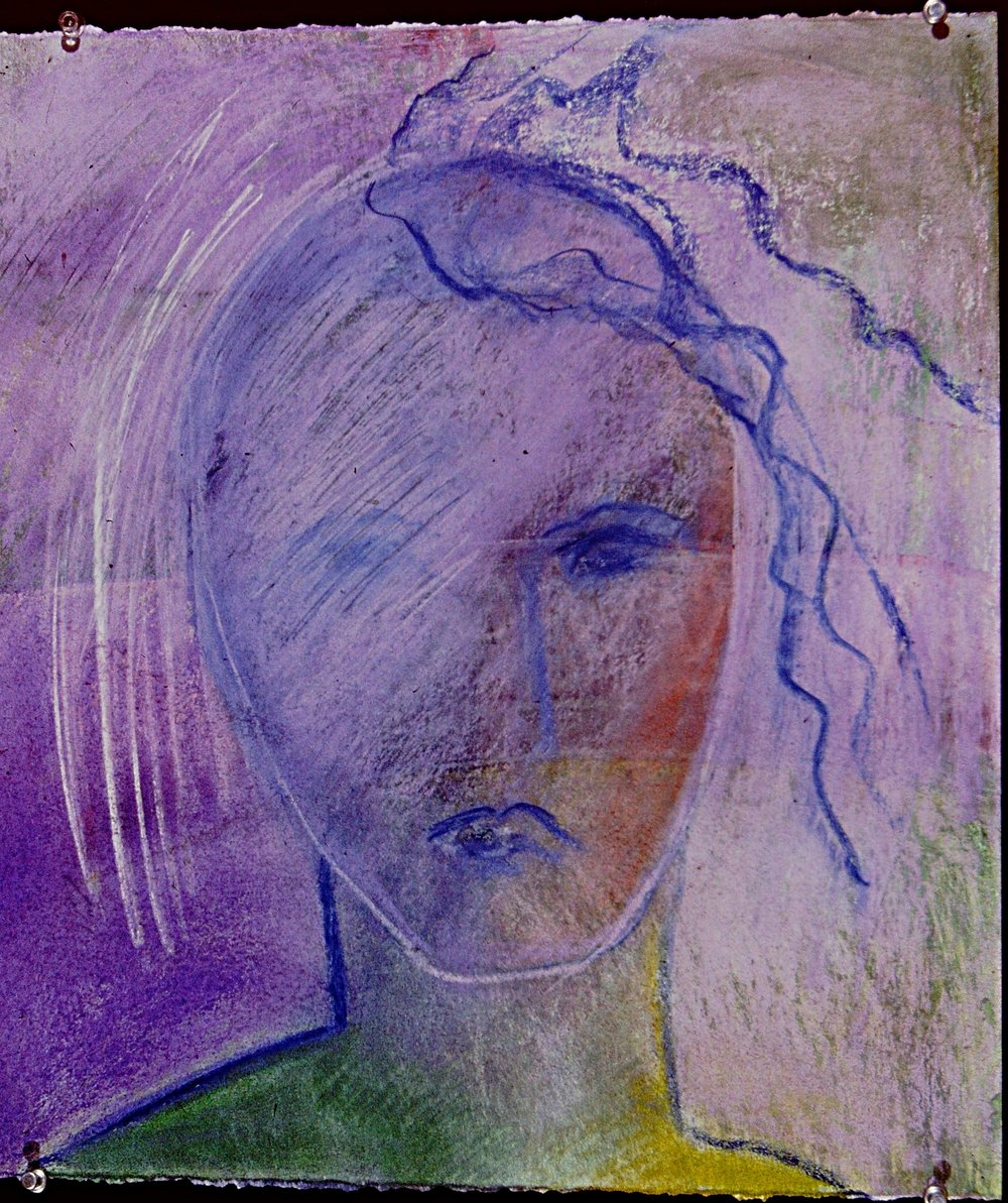 Portrait, Blushing Bride