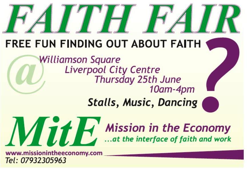 Faith Fair Flyer June 2015