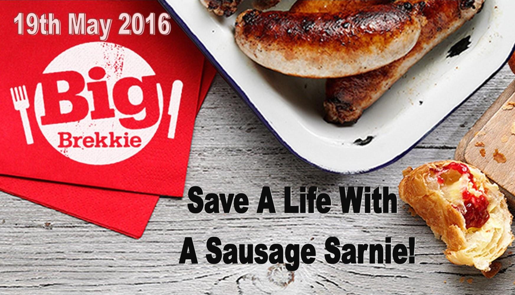 Big Brekkie Sausage Sarnie