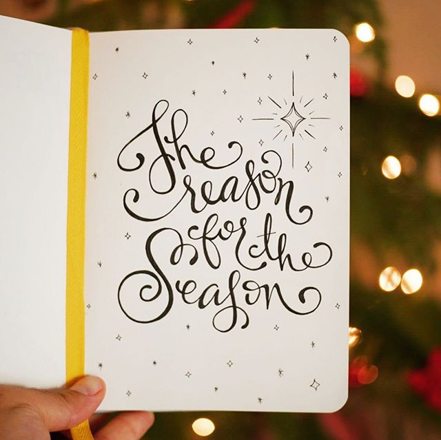 It's not about Santa Clause, the gifts, the food, or the snow.  Let's all remember the true Reason for the season, Christ who was born to die for our sins. That is the true essence of Christmas.  Merry Christmas everyone! ☺  @carly.tirado 🖊  #christmas #christmascheer #art #reasonfortheseason #merrychristmas #handlettering #lettering #ink #micron #christmastree #winter #jesus
