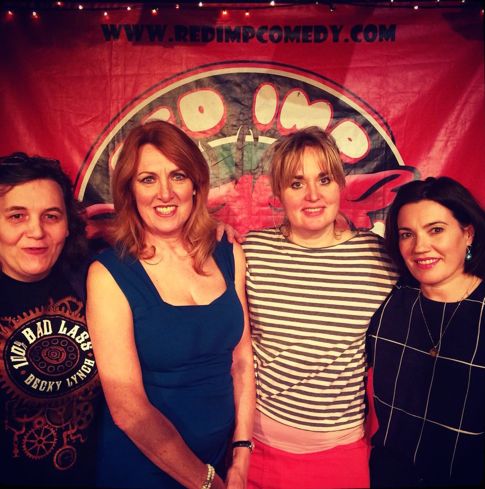 Comedian Susan murray coordinated a comedy show on international women's day -