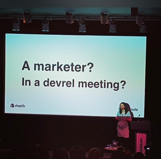 - Speaker - DevRelCon London 2018Topic: Developing your developer community through content marketing   Click here to watch on YouTube