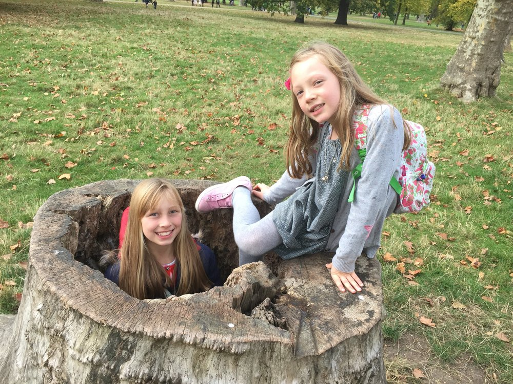 Culture Club Kids in Kensington Gardens