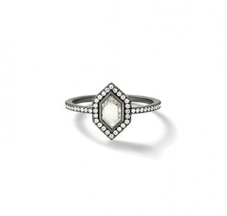 Ashes to Diamond Ring (Female)
