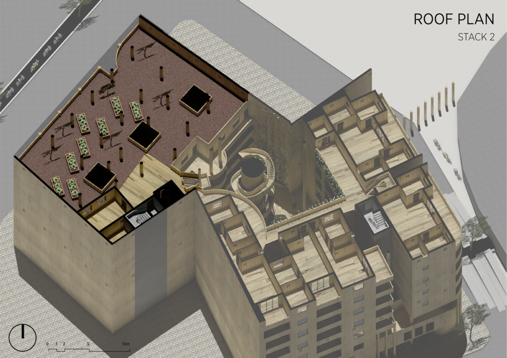 Stack 2 | Roof Plan
