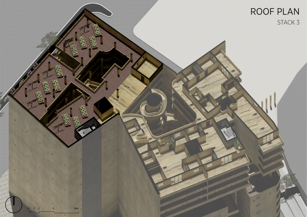 Stack 3 | Roof Plan