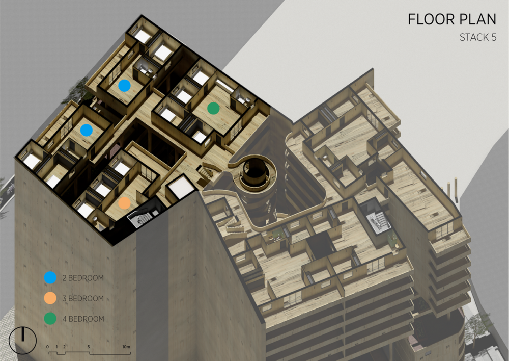Stack 5 | Floor Plan
