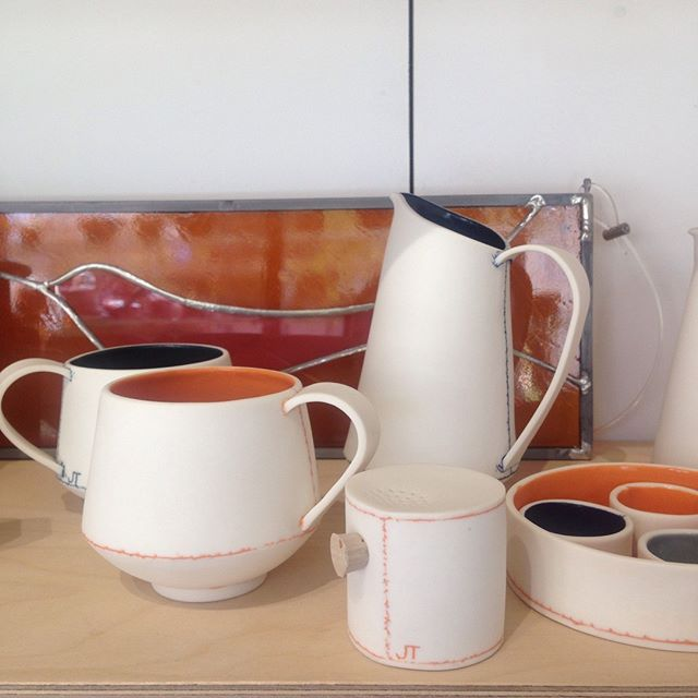 Update your weekend breakfast and make it serene and colourful with these pieces by Jessica Thorn - perfect for Easter time sharing!